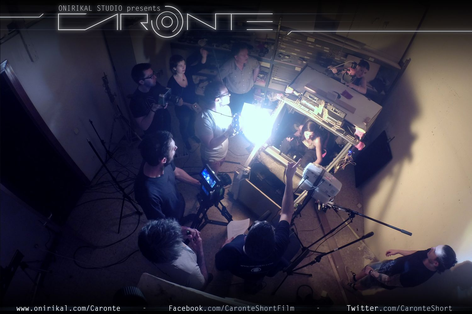 Caronte, a scifi shortfilm produced by Onirikal Studio and directed by Luis Tinoco. Melina Matthews on CARONTE. VFX GC GCI 3D ANIMATION VISUAL EFFECTS SCIENCIE FICTION FILM